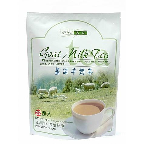 ~東洋果子店~F029 基諾GINO 奶茶羊奶味20g 22 包. .4711153000