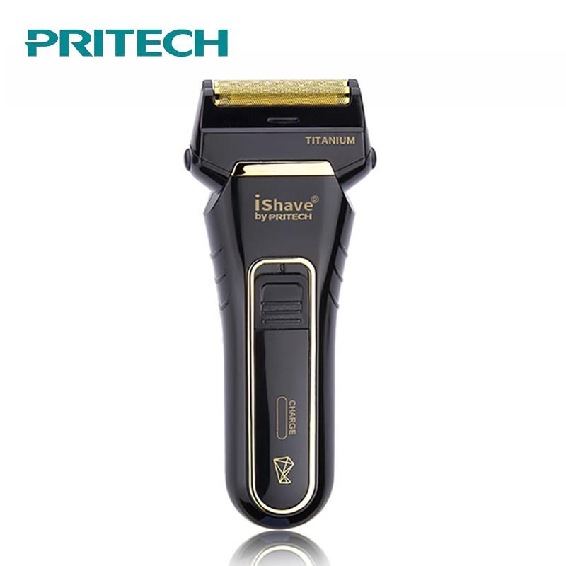 Pritech 電動刮鬍刀 電動刮鬍刀 便攜電動剃須刀 USB電動剃鬚刀