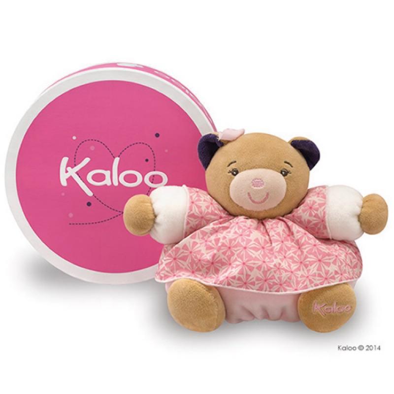 🌟限時特價🌟【 法國 Kaloo 】 Petite Rose 印花裙 熊熊安撫玩偶