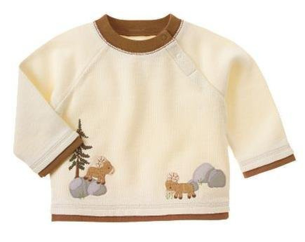 Gymboree 可愛公羊長袖上衣T 恤0 3M 3 6M 6 12M 12 18M 18