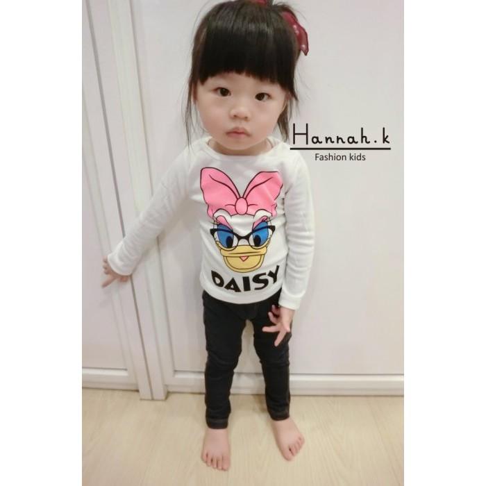 秋款 卡通印花男童女 寶寶兒童長袖T 恤打底衫Hannah K