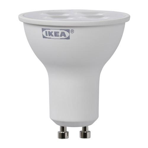IKEA LEDARE E14 LED 燈泡GU 10 2 5 瓦200 流明投射式透明燈