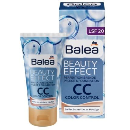 Balea 玻尿酸系列8 合1 全效隔離防曬煥膚CC 霜LSF20