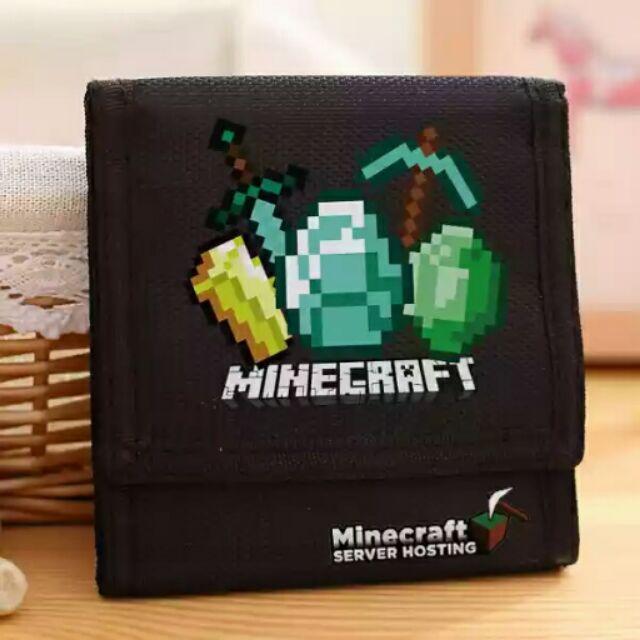 我的世界錢包末影人minecraft 小黑苦力怕MC 動漫周邊皮夾