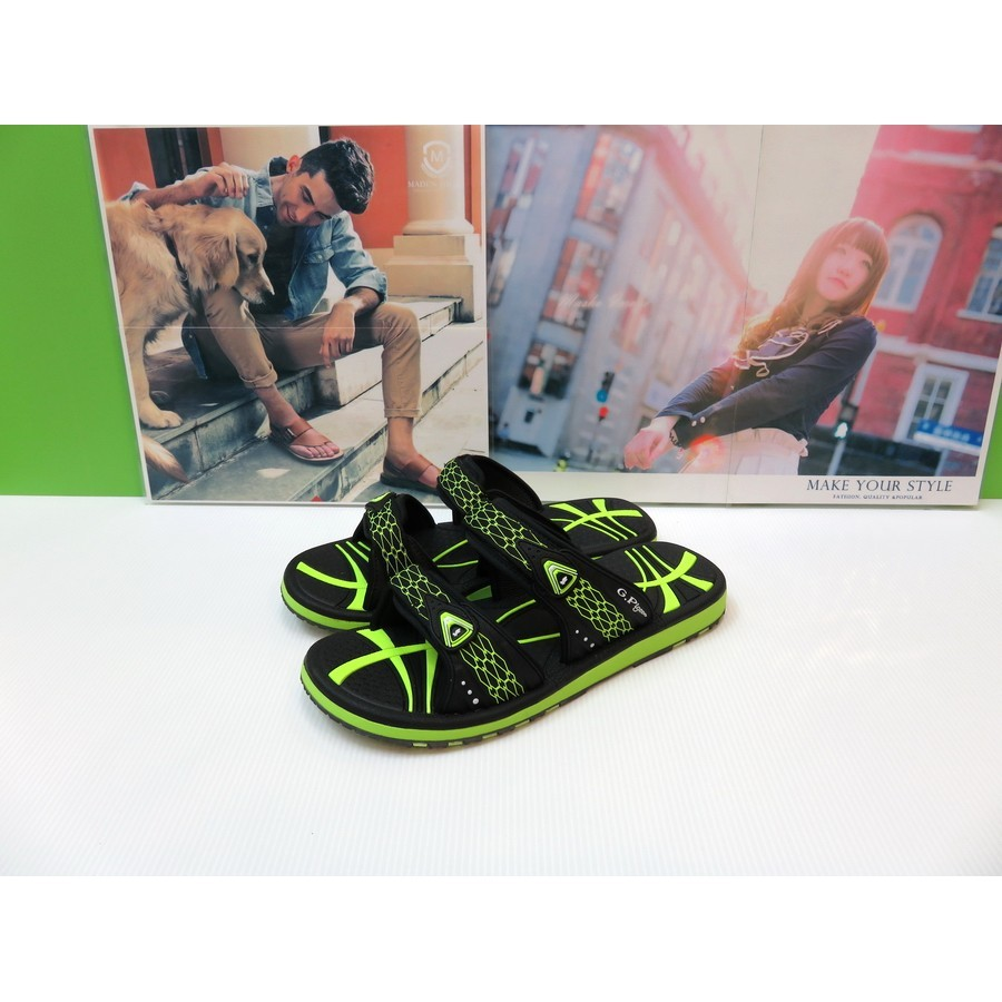 G P 涉水多 涼拖鞋2016 GP 織帶 系列G6869M 黑綠40 44 號