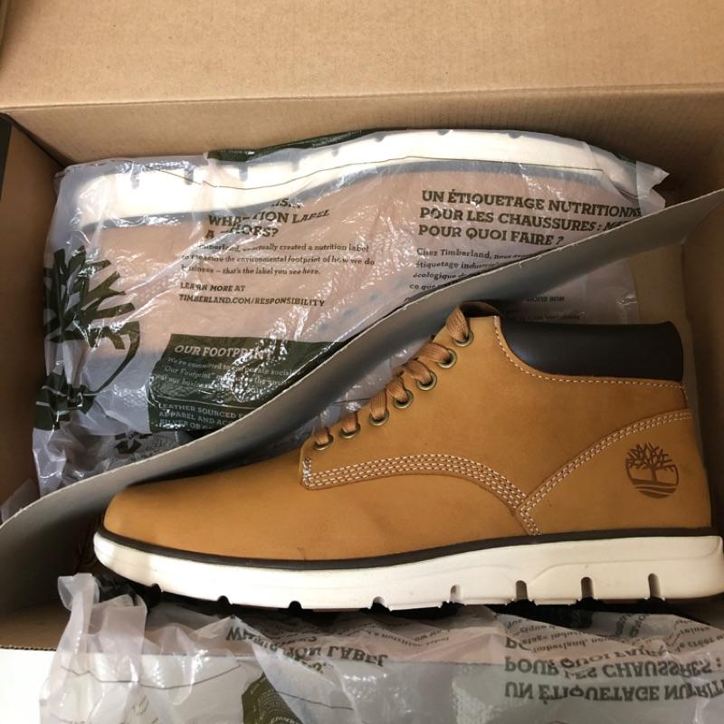 Timberland 男款 小麥黃 絨面皮革休閒鞋