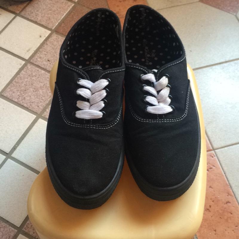 Net 女鞋松糕鞋厚底鞋古著40 號25 號