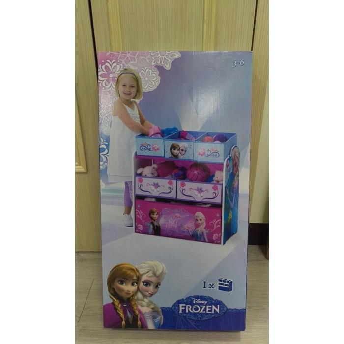 Disney 迪士尼玩具收納櫃冰雪奇緣