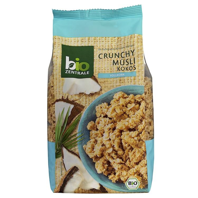 德國有機椰子燕麥脆片375g 包