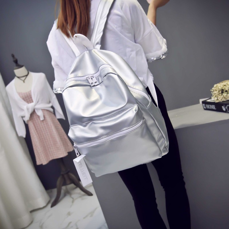韓國 少女背包雙肩包學生包亮色書包純色百搭休閒包潮背包雙肩包化妝包小包肩背包側背包零錢包手
