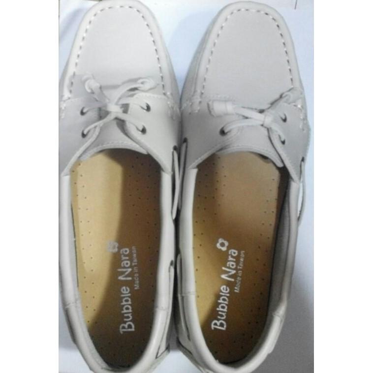 波波娜拉Bubble Nara 不怕水森林女孩手縫氣墊鞋~可水洗皮革DIANA 超軟Q 樂