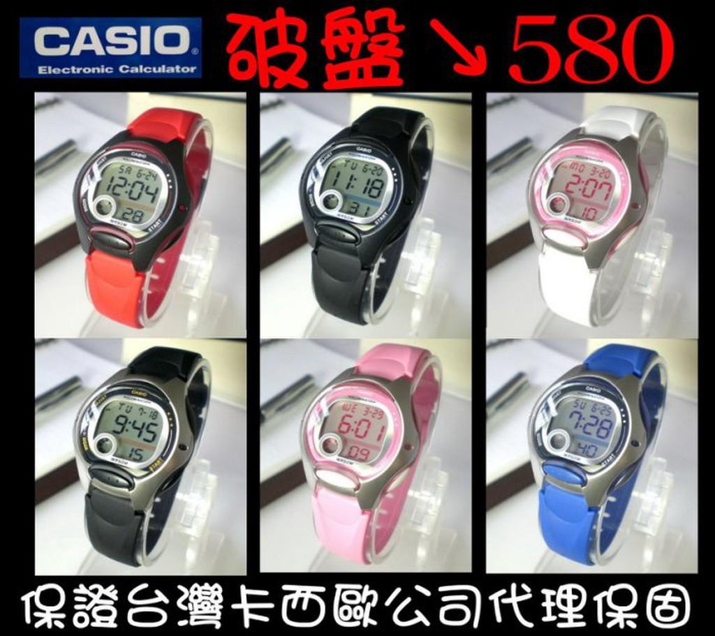 CASIO 電子錶50 米防水果凍 學生兒童女性游泳 代理~破盤價↘550 ~LW 200
