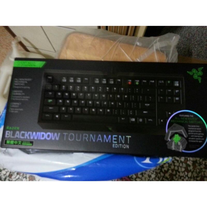 Razer 黑寡婦競技潛行版綠軸中文鍵盤