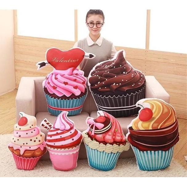 50cm 最 仿真蛋糕甜筒巧克力冰淇淋漢堡薯條咖啡抱枕