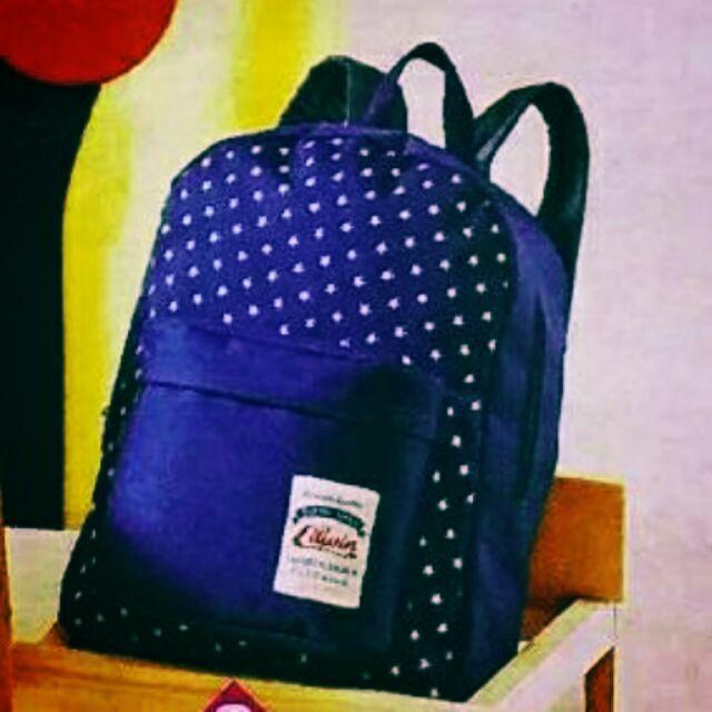可愛星星後背包EDWIN 後背包 後背包揹包背包手提包斜揹包媽媽包旅行包包包媽媽袋