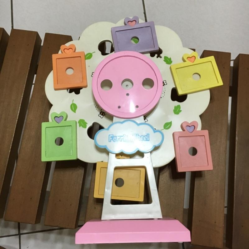 摩天輪音樂盒(可放照片)