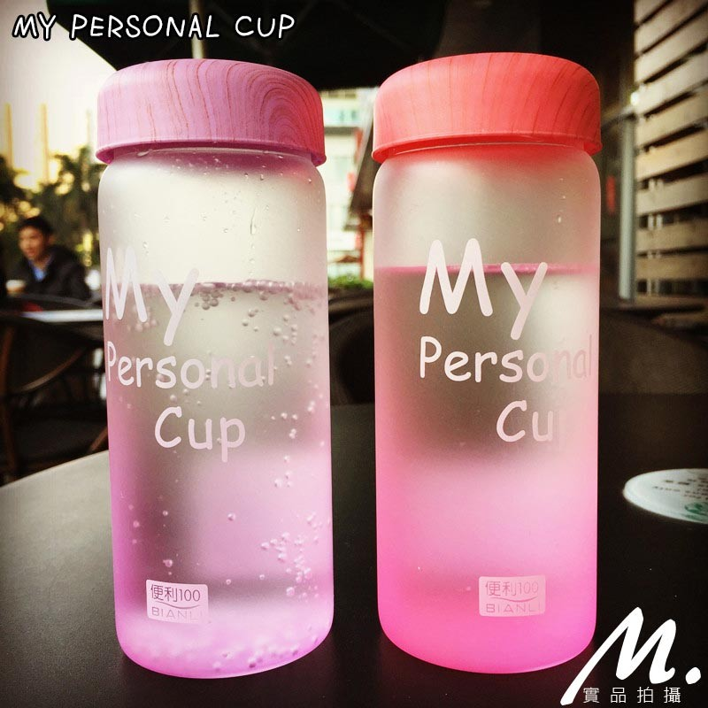 MIYAKI 韓國mybottl 磨砂攜帶玻璃杯送杯套 水壺2 種尺寸随手杯日韓雜貨居家冷
