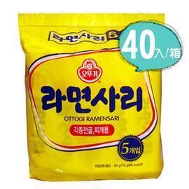 韓國不倒翁Q 拉麵純麵條無調理包40 入箱~韓國火鍋店最常 到的麵條
