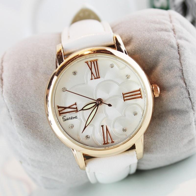 〖 衣櫃〗韓國夜光防水潮流手錶皮帶女錶石英錶女士時裝 錶