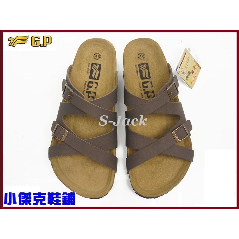 蝦皮 ~小茜鞋坊~G P Y2015 款男仕勃肯拖鞋M351 阿亮代言咖啡色EUR 40