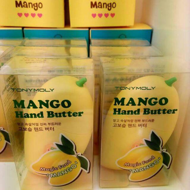 ~ ~超可愛!芒果奶油保濕護手霜45ml n n 新鮮食物的魔法般效果!芒果籽油在手上輕肉