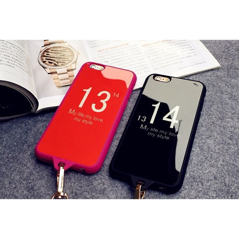 一生一世1314 蘋果情侶手機殼iphone5 5s se 全包殼i6 6s4 7 掛繩防