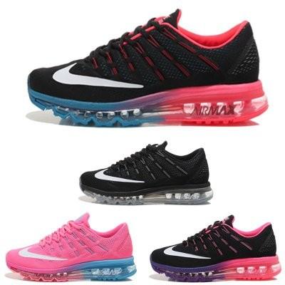 正品耐克男鞋Nike Air Max 2016  全掌氣墊透氣男子跑步鞋籃球鞋男女學生慢跑