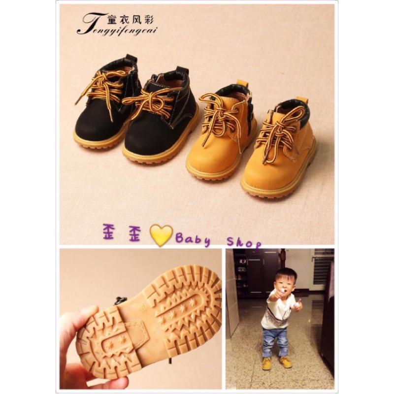 兒童百搭帥氣馬丁靴