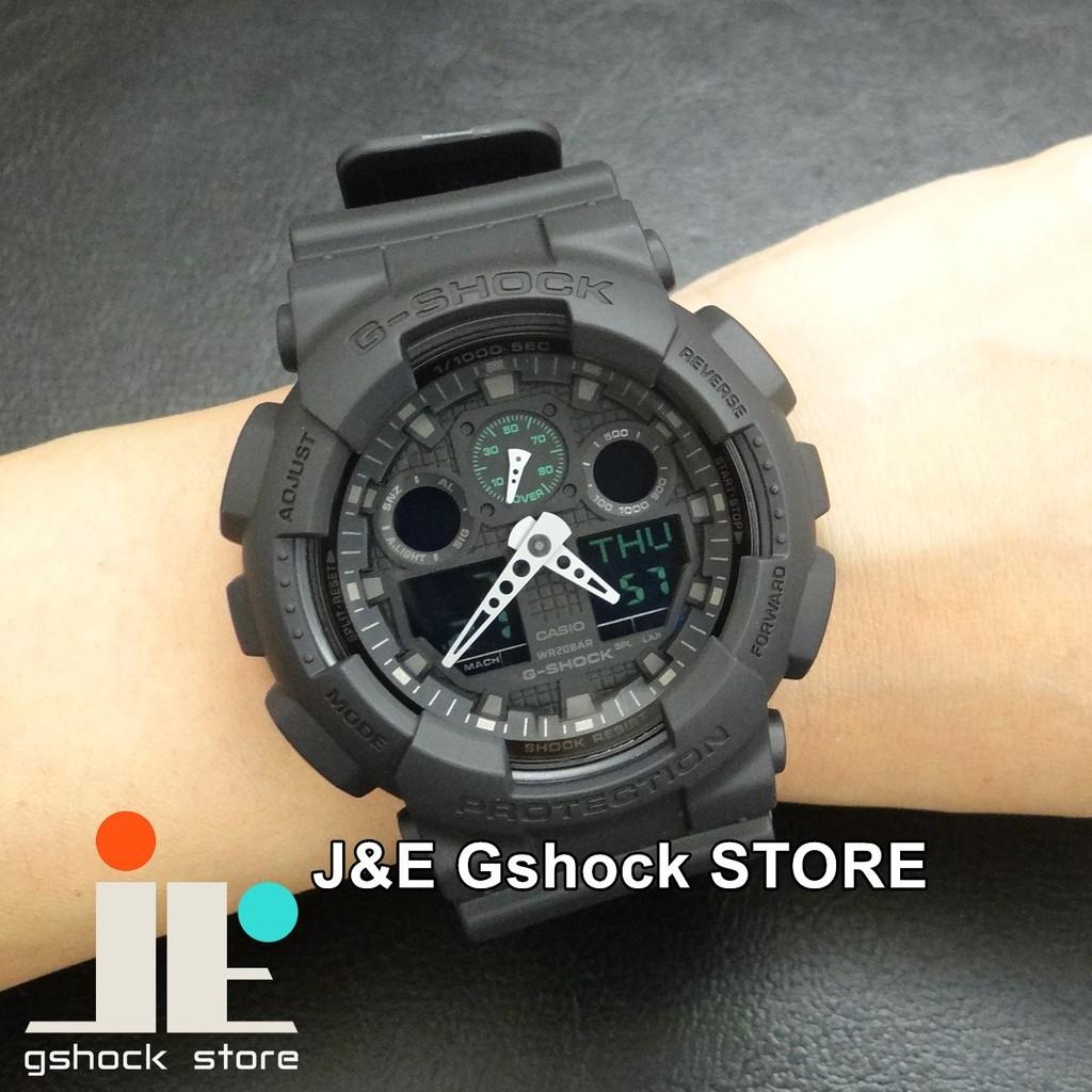 ~J E Gshock ~㊣CASIO 卡西歐㊣G SHOCK GA 100 系列GA 1