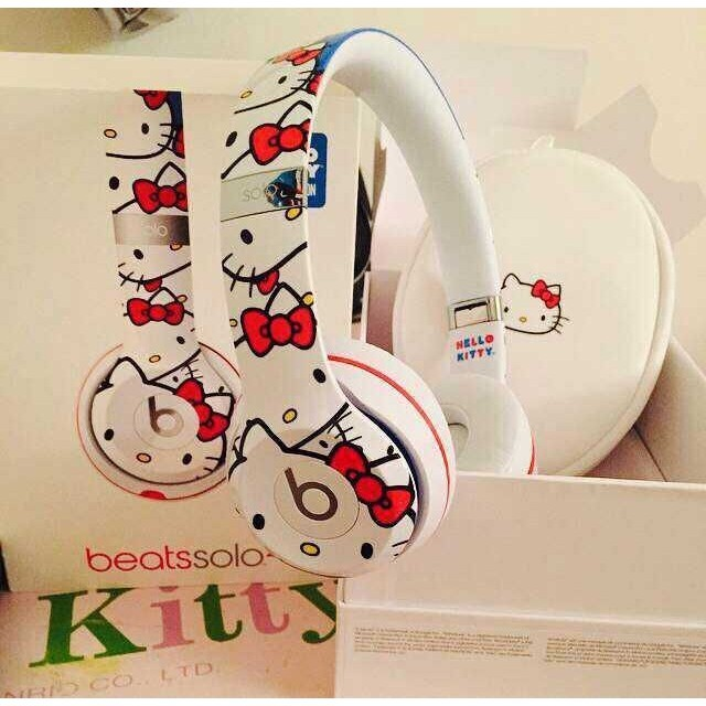 魔音耳機beats 爆款HELLO KITTY UR beats beatsSOLO2 熱