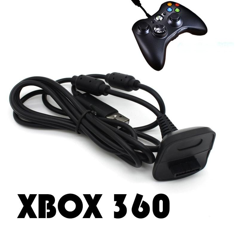 XBOX 360 充電線USB 充電線無線手把充電手柄充 手把直充同步充電無線手把變有線手