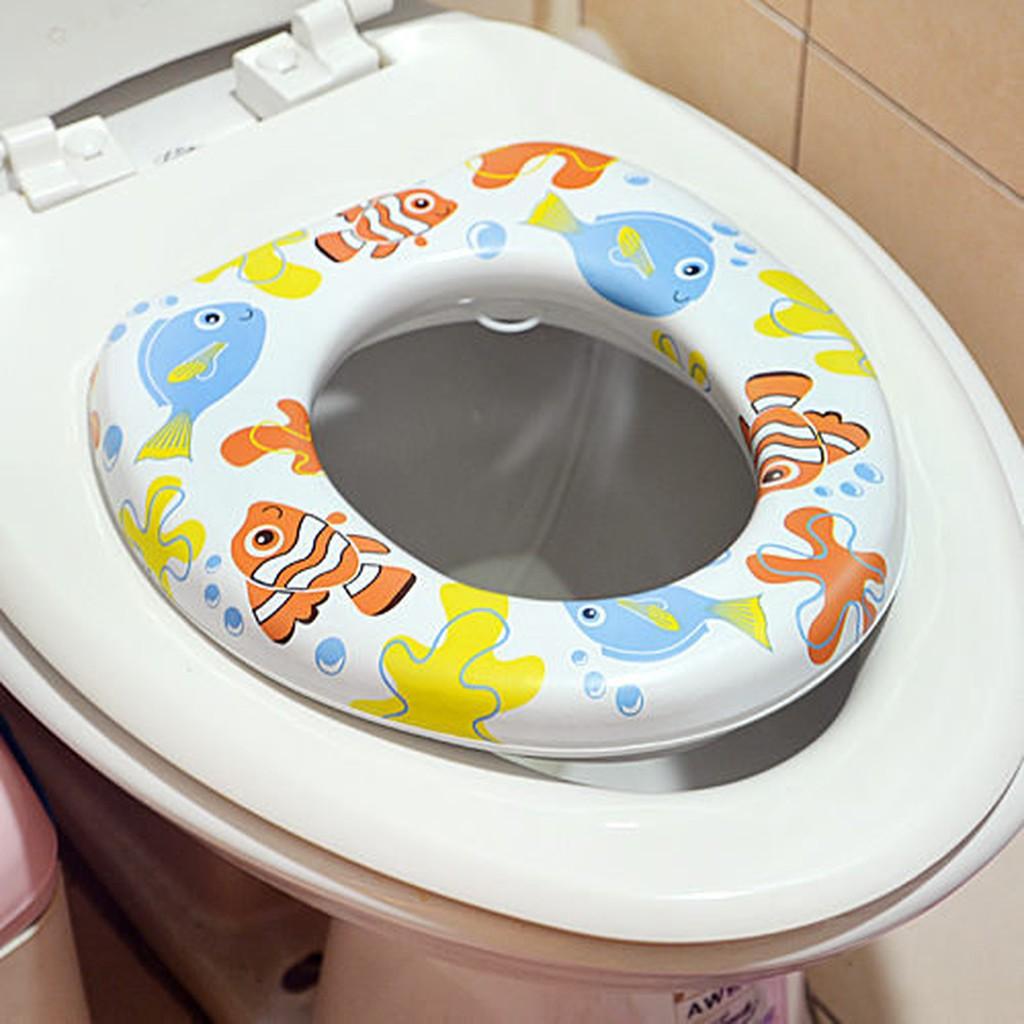 ~小兒彩色馬桶軟墊~馬桶蓋馬桶座馬桶軟墊輔助便座衛生馬桶墊幼兒兒童51115