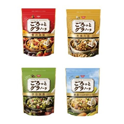 NISSIN 日清綜合穀物燕麥麥片綜合水果大豆大豆降價