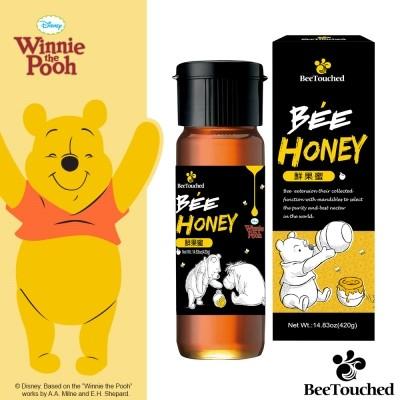 蜜蜂工坊維尼系列鮮果蜜草本蜜花蜜迪士尼天然蜂蜜鮮果蜂蜜草本蜂蜜花蜂蜜420g