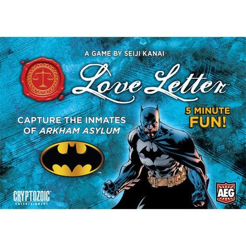 ~米客桌遊~~ ~Love Letter Batman 情書蝙蝠俠版盒裝版~台南.高雄~