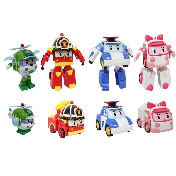 迷你變形羅伊ROBOCAR POLI 波力救援小英雄可愛造形可變形 伯寶行代理