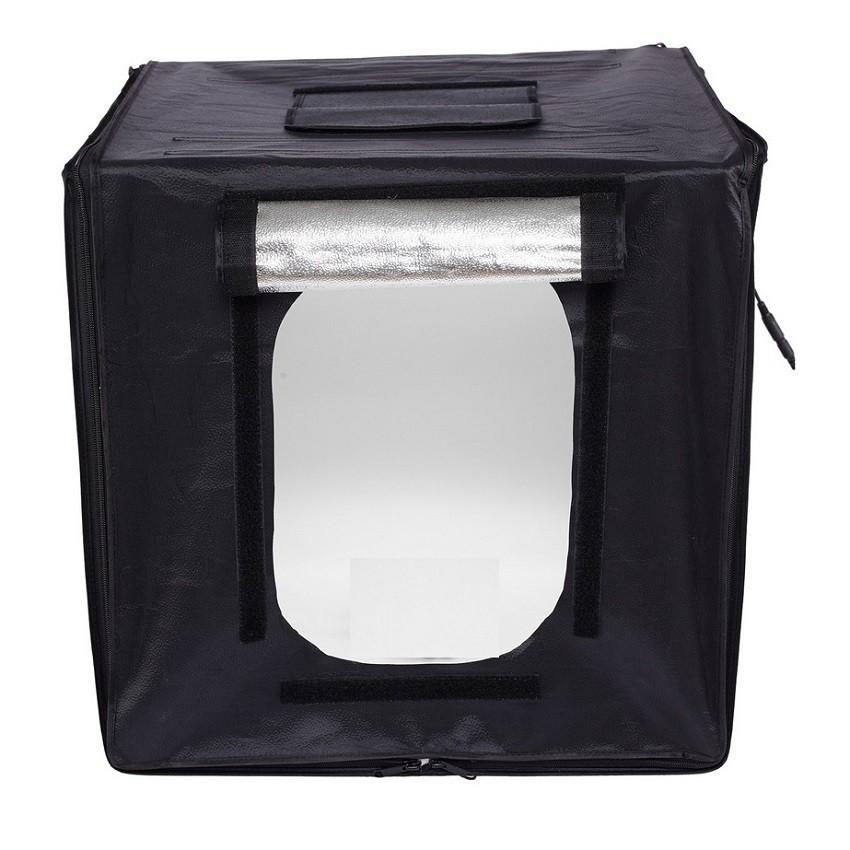 LED 攝影棚套裝小型拍攝拍照燈箱柔光箱簡易攝影燈箱器材