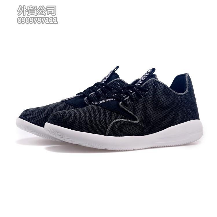 NIKE Air Jordan Eclipse Low 實戰舒適休閒鞋慢跑鞋 鞋男女鞋黑白