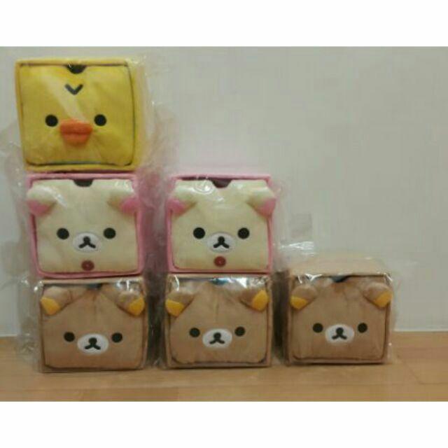~10 月 ~(超可愛~絨毛收納盒抽屜)San x 懶熊拉拉熊懶妹小雞森林小熊蜜茶熊 正貨
