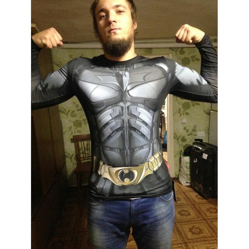 超級英雄蝙蝠俠系列 緊身衣~男生 速乾訓練服