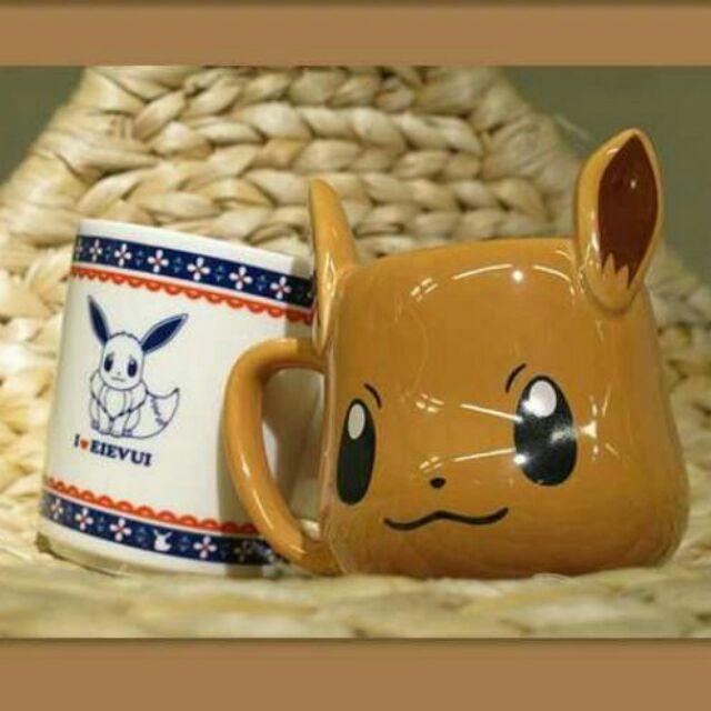 ·娜娜·寶可夢Pokemon 杯子神奇寶貝寵物小精靈伊布陶瓷水杯動漫周邊杯子馬克杯