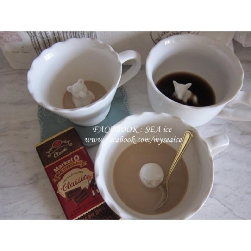 加拿大正品 IMM LIVING 熊熊貓頭鷹狐狸動物 陶瓷茶杯咖啡杯湯碗馬克杯