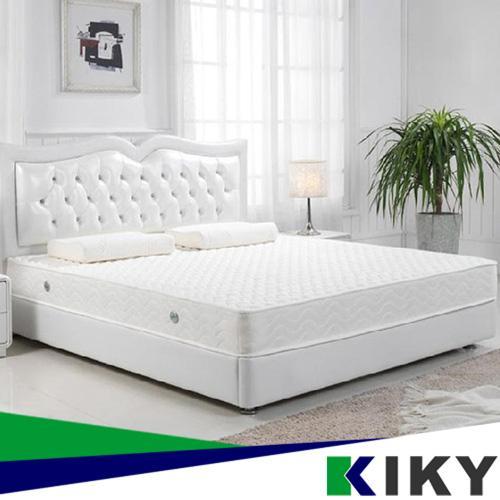 KIKY ~ 美式~服貼輕柔型獨立筒床墊加贈保潔墊