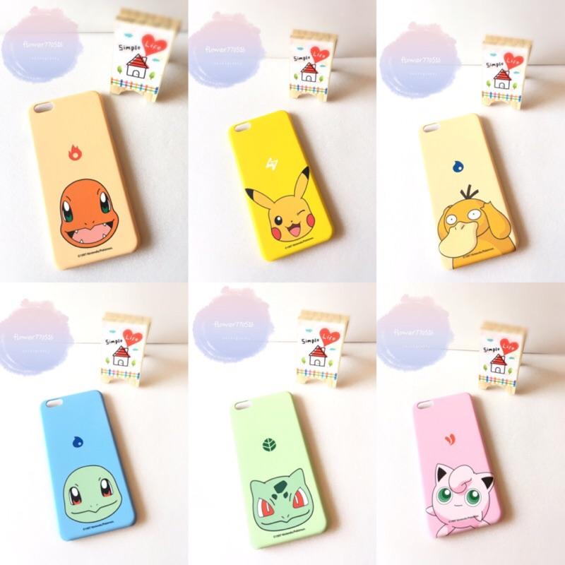 神奇寶貝手機殼磨砂硬殼寶可夢iphone6 /6s iphone6plus /6splus
