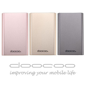 ~高容量高速充電~doocoo coherer 10000 行動電源共三色