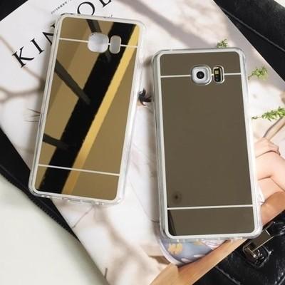 多 純色鏡面電鍍軟殼S6 S5 S7 Note3 Note4 Note5 J7 J5 A3