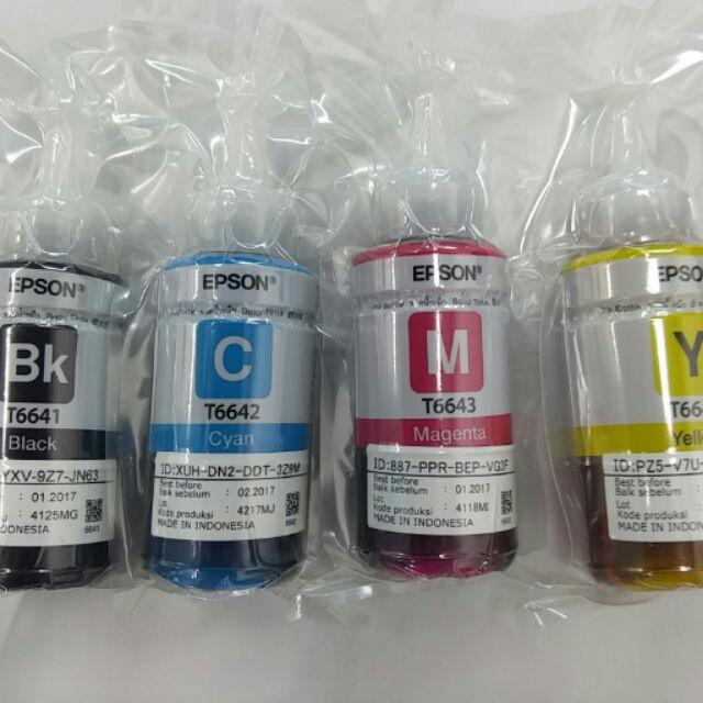 EPSON 墨水T6641T6642T6643T6644 L100 L200 L300 L