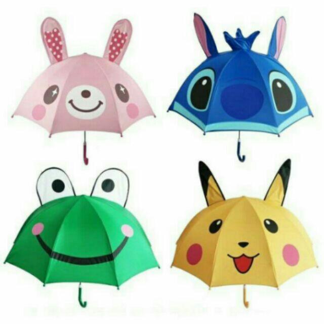 ❤兒童卡通太陽傘防紫外線超輕防曬傘雨傘