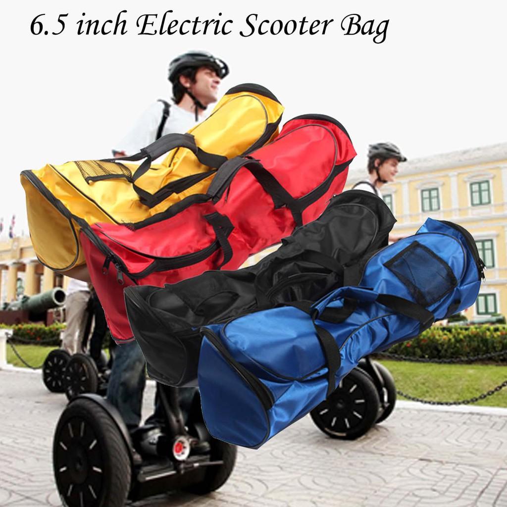 攜帶式6 5 英吋兩輪平衡電動滑板車手提包
