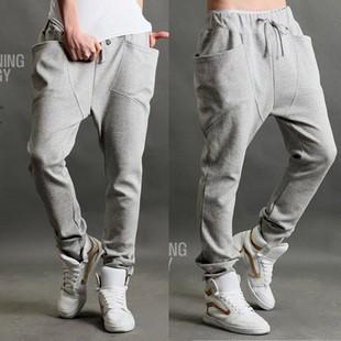 長褲2016  特色立體口袋飾飛鼠褲哈倫褲男長褲 褲